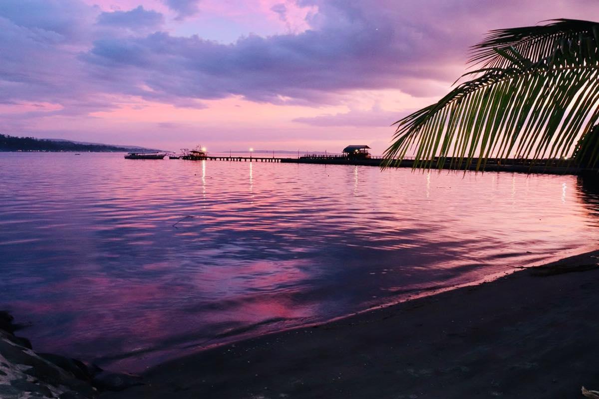 ダバオの夜景